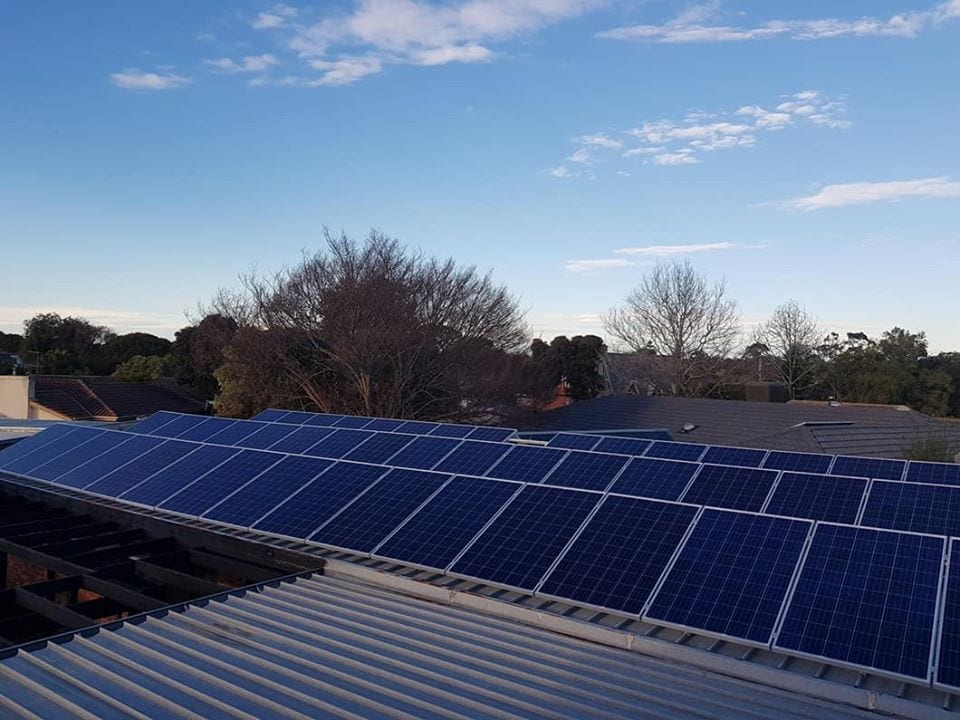 commercial solar victoria jobs