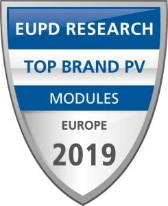 Jinko wins EUPD award