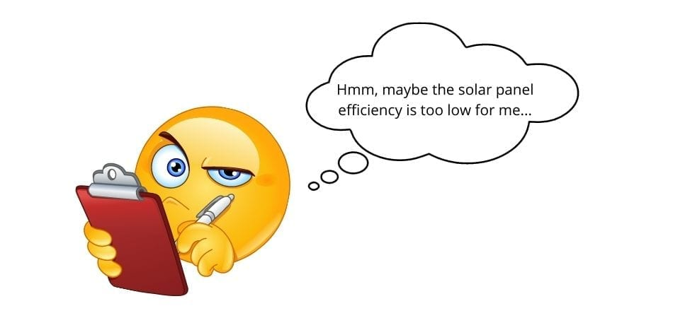 what is solar panel efficiency