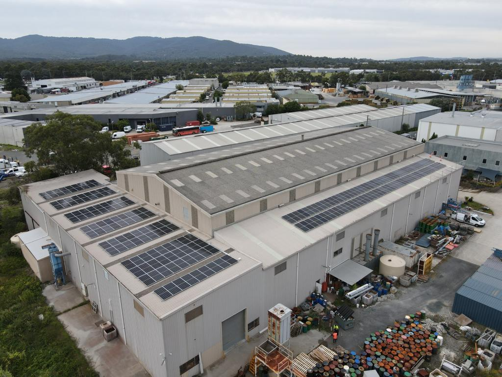 bayswater commerical solar panel system