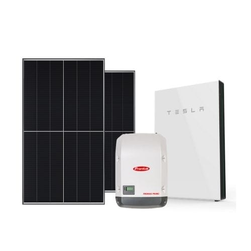 solar system and battery