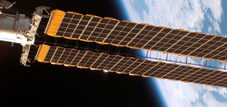 advantages for solar being used in space